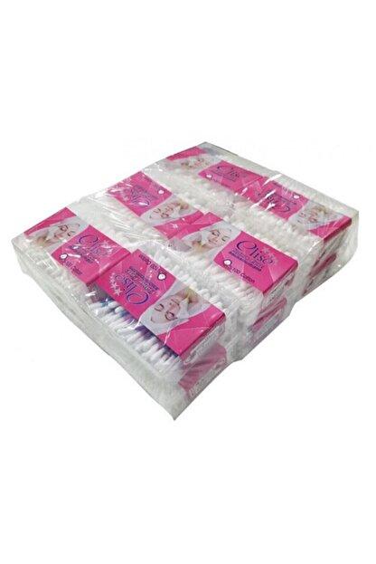 CLİSE Köşeli 200'lük Kulak Çöpü 12 Kutu Paket 12+200: 2400 Adet Vardır