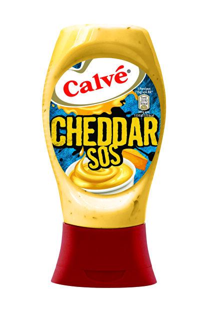 Calve Calve Cheddar Sos 240 G