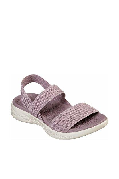 Skechers ON-THE-GO 600 - FLAWLESS Kadın Açık Leylak Sandalet