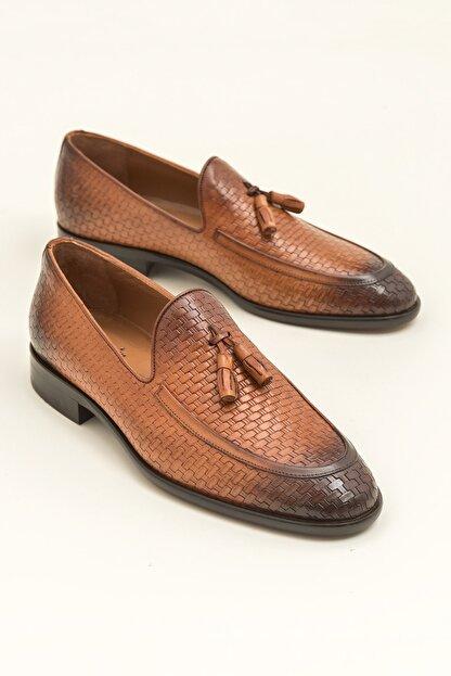 Elle SVERRE Deri Taba Erkek Ayakkabı