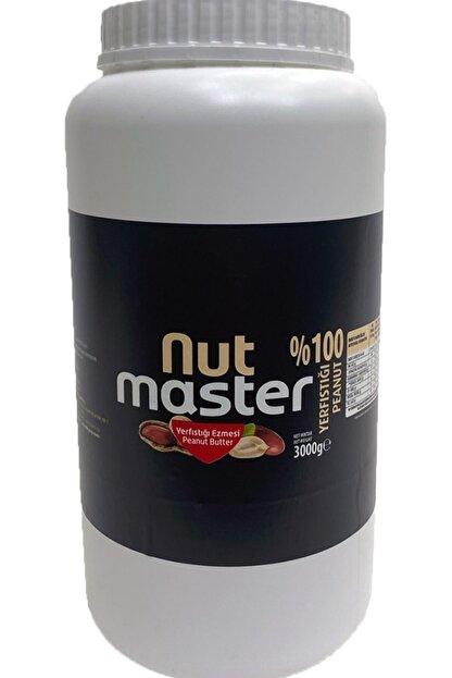 Nut Master Yer Fıstığı Ezmesi %100 3 Kg