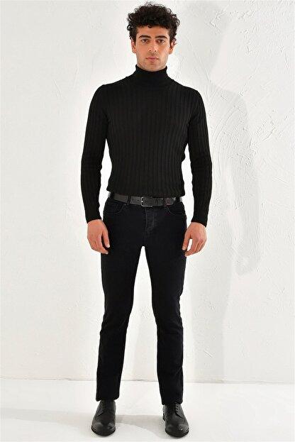 Efor 053 Slim Fit Siyah Jean Pantolon