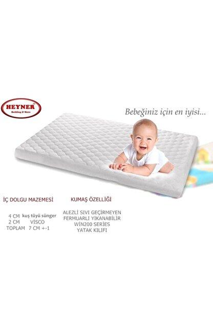 Heyner Alezli Visco Oyun Parkı Yatağı 70X110 Cm Sepet Beşik Yatağı