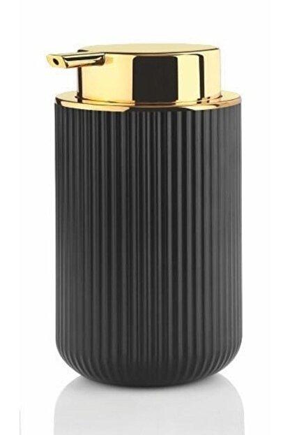 Perotti Lisbone Gold Siyah Sıvı Sabunluk