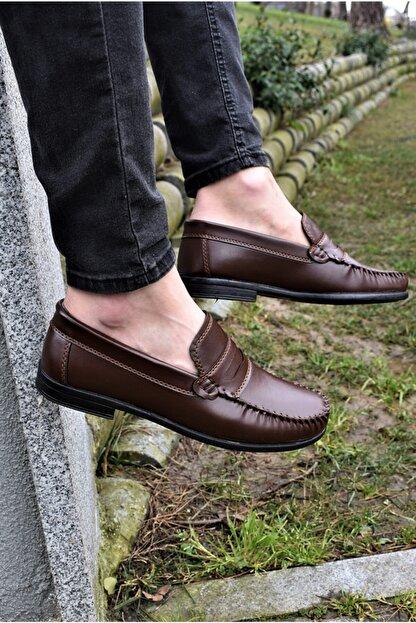 ALBİDÜNYA Erkek Kahverengi Günlük Ayakkabı