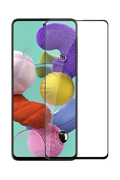 Dijimedia Samsung Galaxy A71 Uyumlu Ekranı Tam Kaplayan 5d Kırılmaz Cam Ekran Koruyucu