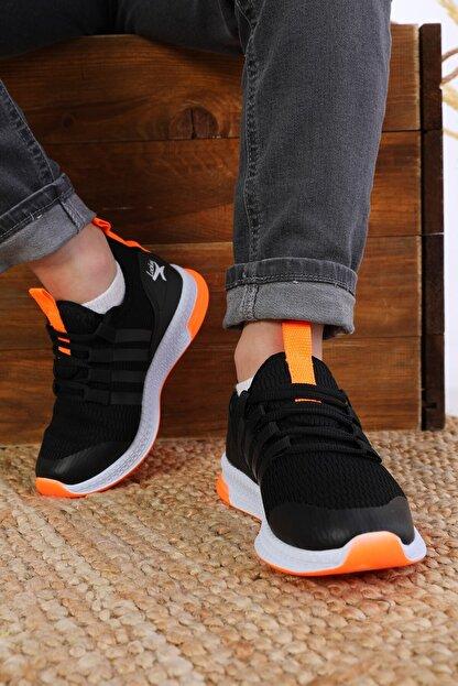 AlbiShoes Unisex Çocuk Siyah Sneaker