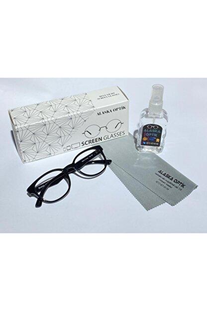 AlaskaEyewear Blue, Bilgisayar Telefon, Mavi Işık Korumalı Ekran Gözlüğü Büyük Boy Uv400,
