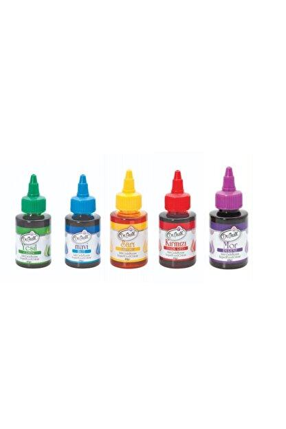 Dr. Gusto Dr Gusto 5 Li Sıvı Gıda Boyası 5 X 60 Gr Sarı Kırmızı Mavi Mor Yeşil