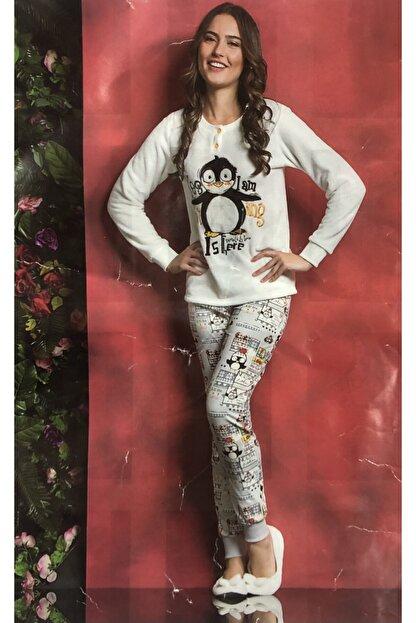 TUGSE Polar Pijama Takımı Ev Kıyafeti