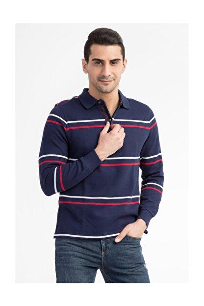 Kiğılı Erkek Lacivert Polo Yaka T-Shirt - 29334