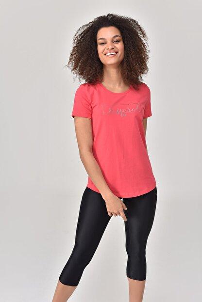 bilcee Pembe Kadın T-Shirt GS-8615