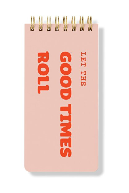 Fabooks Let The Good Times Roll Spiral Bloknot