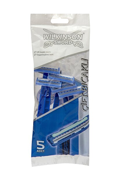 Wilkinson Wilkinson Çift Bıçaklı Tıraş Bıçağı 5'Li Poşet