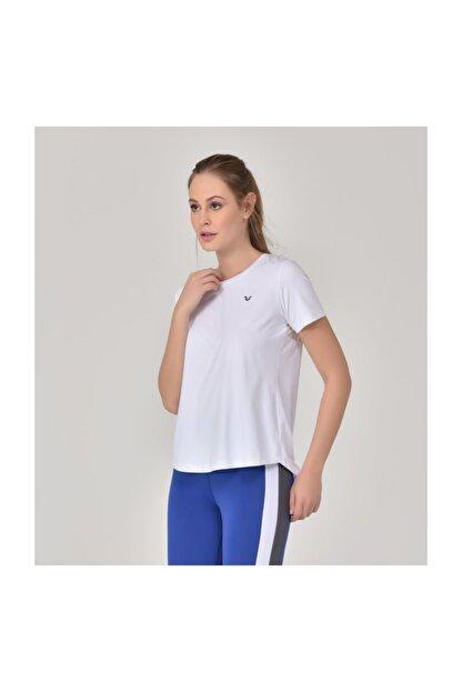 bilcee Beyaz Kadın Sırt Detaylı Kadın T-Shirt GS-8110