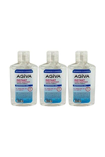 dezenfektan antibakteriyel el temizleyici jel 250ml 3 adet