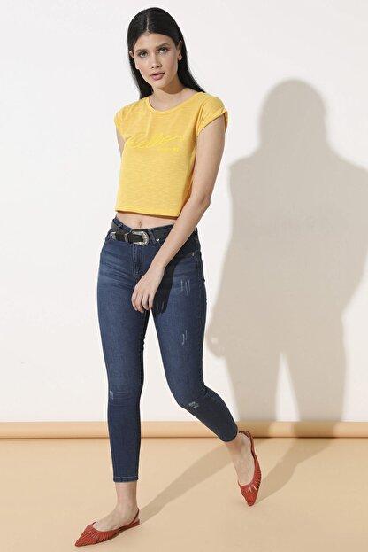 Arma Life Kadın Çağla Tint Yüksek Bel Pantolon 110-0Yb13259Ptl