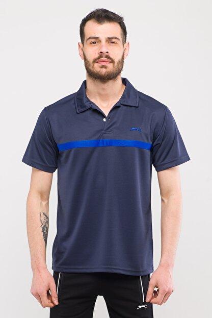 Slazenger Troop Erkek T-shirt Lacivert St10te140