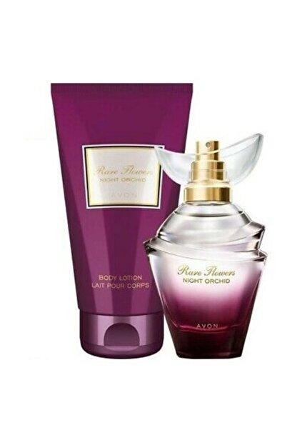 Avon Rare Flowers Night Orchid Parfüm Ve Vücut Losyonu Seti