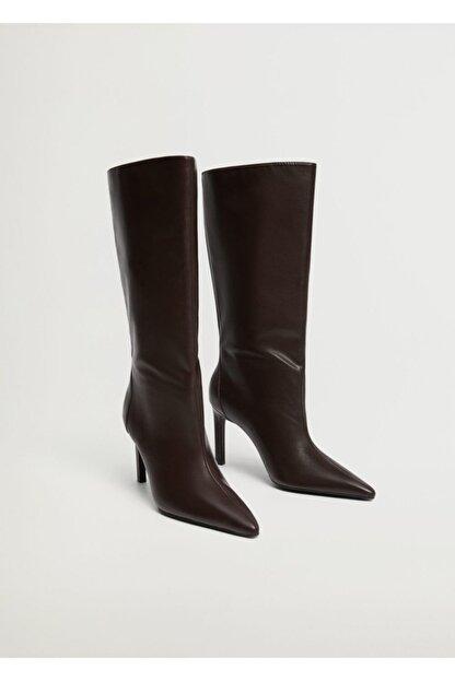 Mango Kadın Çikolata Çizme 87050086