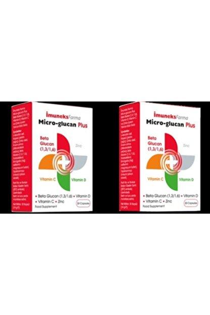 Imuneks Micro Glukan Plus Beta Glucan 30 Kapsül 2 Kutu