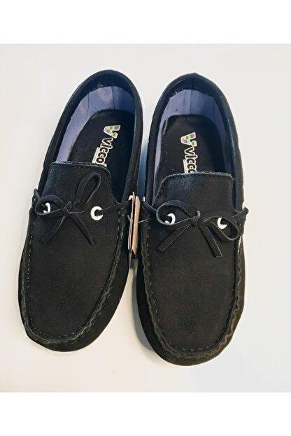 Vicco Erkek Çocuk Siyah Hakiki Süet Ortopedik Ayakkabı