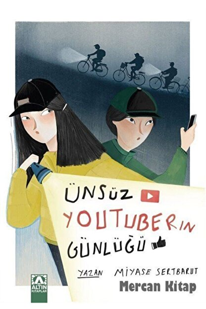 Altın Kitaplar - Çocuk Kitapları Ünsüz Youtuberın Günlüğü