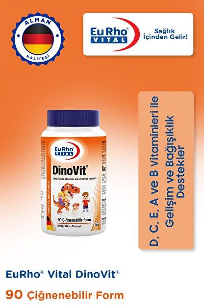 Eurho Vital Dinovit 90 Çiğnenebilir Tablet - Portakal