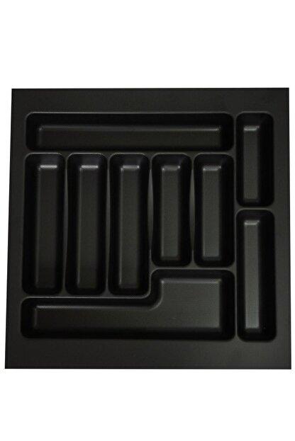 İNTERİO 47 Cm X 49 Cm Çekmece Içi Kaşıklık Siyah 43x41'e Kadar Kesilebilir