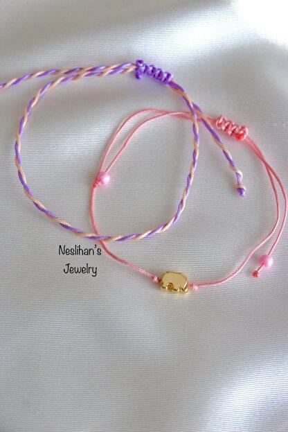 Neslihan's Jewelry 2'li Fil Figür Bileklik