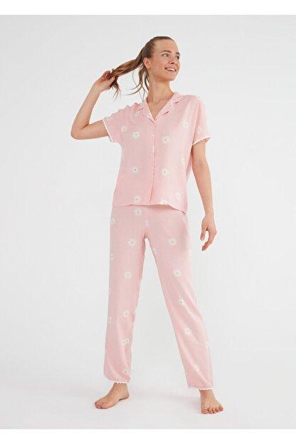 Suwen Daisy Maskulen Pijama Takımı