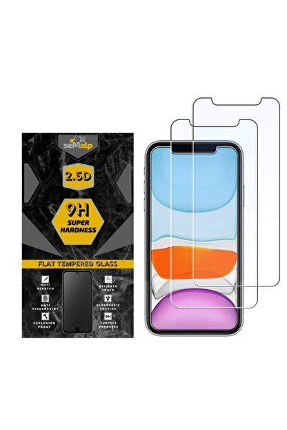 seMalp Iphone 11 Pro Uyumlu Şeffaf  9h Sertlikte Temperli Ekran Koruyucu Cam