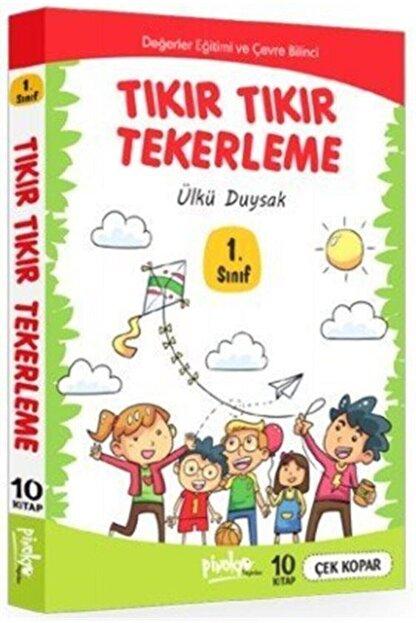 Pinokyo Yayınları 1. Sınıf Tıkır Tıkır Tekerleme 10 Kitap Takım