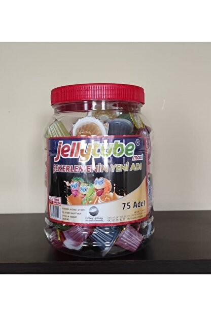 JELLYTUBE JELLY Şekerleme 12 gr 75 Adet