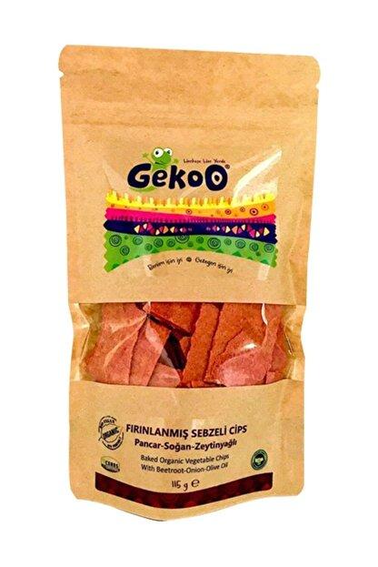 Gekoo Organik Sebzeli Fırınlanmış Cips  Pancar Soğan Zeytinyağlı 115gr