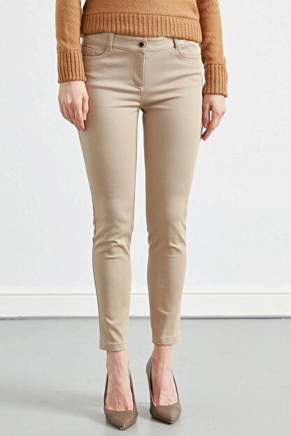 Journey Kadın Taş Rengi Düz Pantolon
