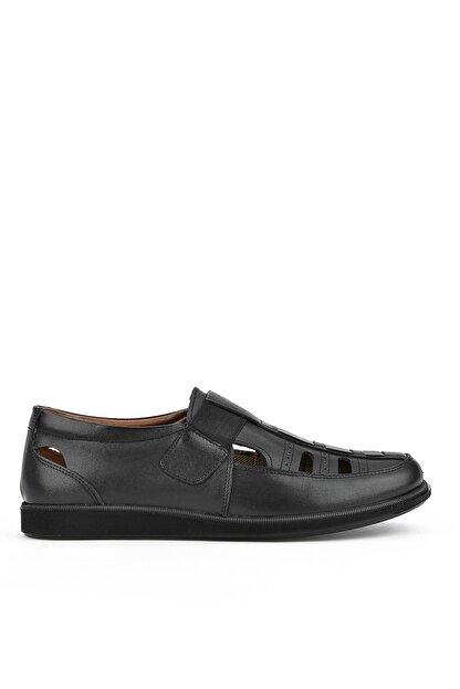 Ziya , Erkek Hakiki Deri Ayakkabı 111423 230 Sıyah