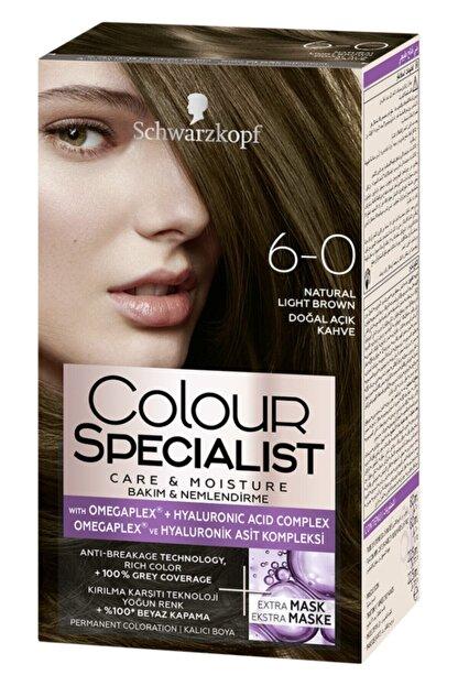 Colour Specialist Saç Boyası 6-0 Doğal Açık Kahve