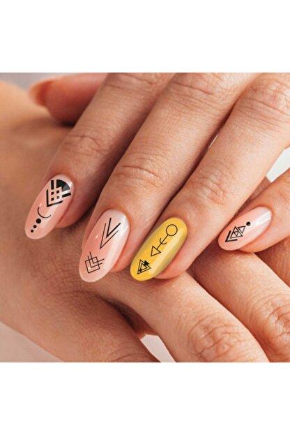 Artikel Etnik Desenler-2 Tırnak Dövmesi Tırnak Tattoo Nail Art Tırnak Sticker