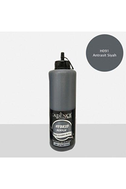 Cadence Boya Hybrid Multisurface Akrilik Boya 500 Ml. H-091 Antrasit Siyah