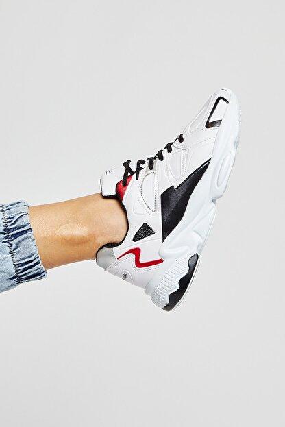 Tonny Black Beyaz Siyah Unisex Sneaker TB252-0