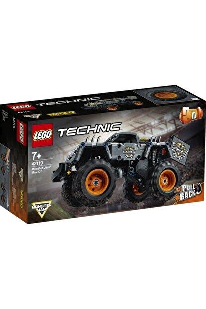 LEGO ® Technic Monster Jam® Max-D® 42119 - Çocuklar için Canavar Kamyon Oyuncak Yapım Seti 230 Parça