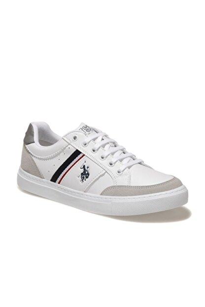 US Polo Assn AREN 1FX Beyaz Erkek Sneaker Ayakkabı 101004850