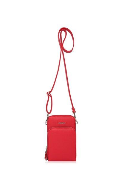 Cengiz Pakel Shirley Kadın Omuz Çantası 7307-kırmızı