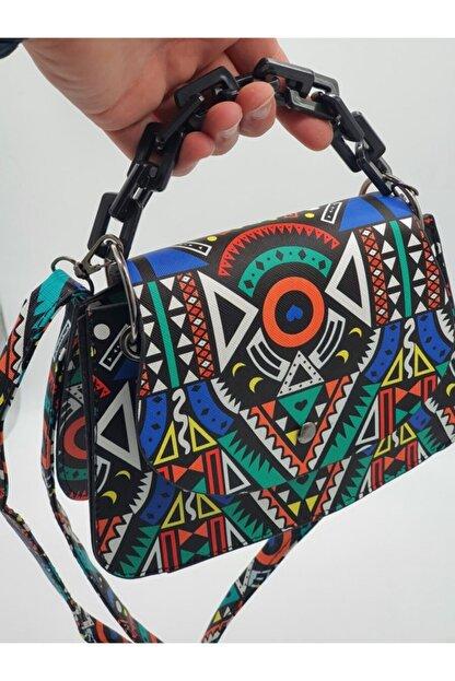 eblack Kadın Renkli  Çanta