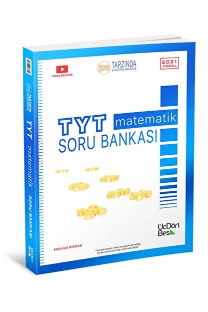 Üç Dört Beş Yayıncılık 345 Yayınları Tyt Matematik Soru Bankası 2021