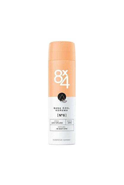 8x4 Deodorant No:6 Juicy Splash Kadın 150 ml Bana Özel Koruma