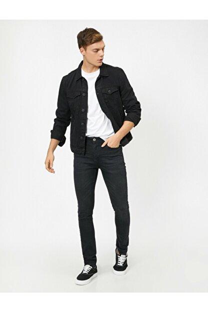 Koton Erkek Siyah Pantolon 0KAM43052MD