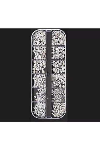ATAMAN Gümüş Tırnak Süsleme Taşı Ts13