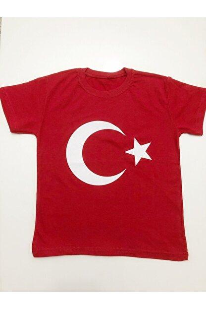 Minies Bayrak Baskılı Çocuk T-Shirt